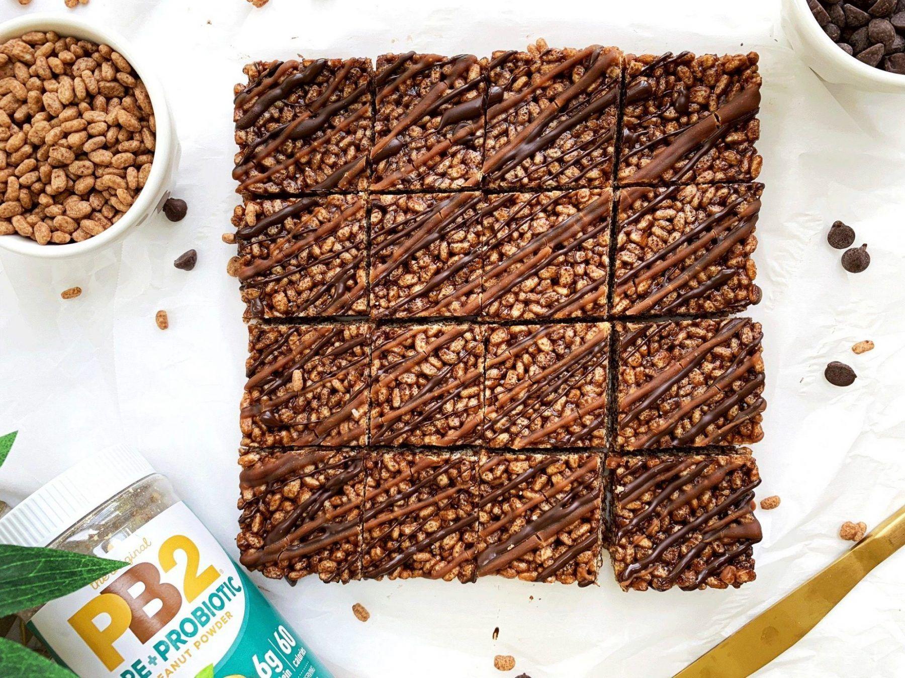 Chocolate Rice Krispie Treat Recipe Krispie treats