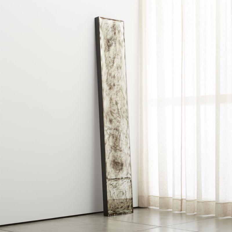Josephine Mirror Crate And Barrel Floor Mirror Over The Door Mirror Linen Curtain Panels