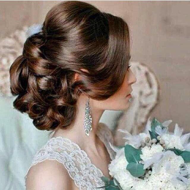 Wedding 000 On Instagram زواج فساتين شعر جميله جمال حنا خقق خقه صوره صورة صور كيوت ملابس موضه Romantic Wedding Hair Hairdo Wedding Bridal Hair