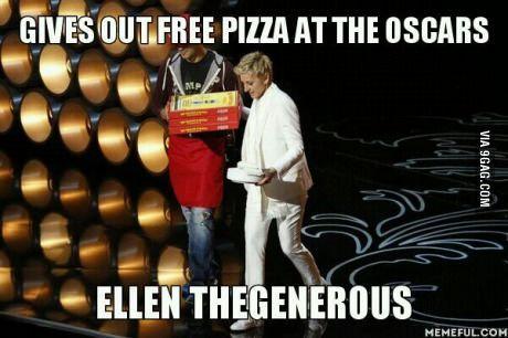 Funny Images: Ellen Degeneres fun funny humour comedy haha hahaha hehe sarcasm sarcastic lol lmao