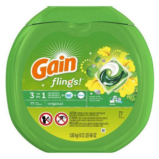 Gain Flings Original Laundry Detergent My New Favorite Smells