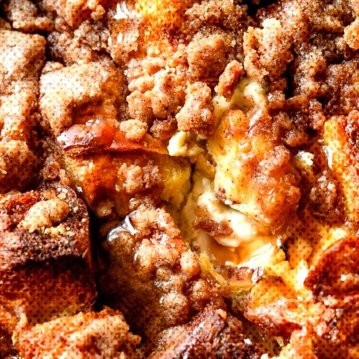 Baked Cream Cheese French Toast Casserole Recipe | Yummly Baked Cream Cheese French Toast Casserole