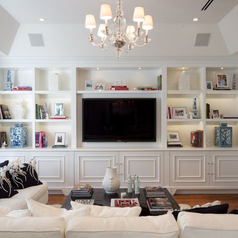 Tv Wall Units Design Ideas Pictures Remodel And Decor Living Room Built Ins Home Family Room Design