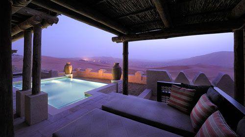 El Resort del Quasr en mitad del desierto de Abu Dhabi