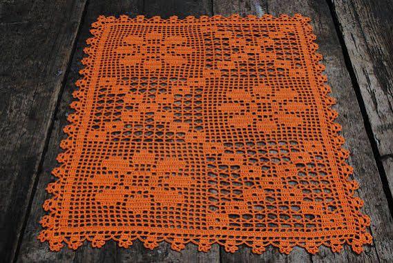 Squared Crochet Doilies Trabalhos Manuais Pinterest Läufer