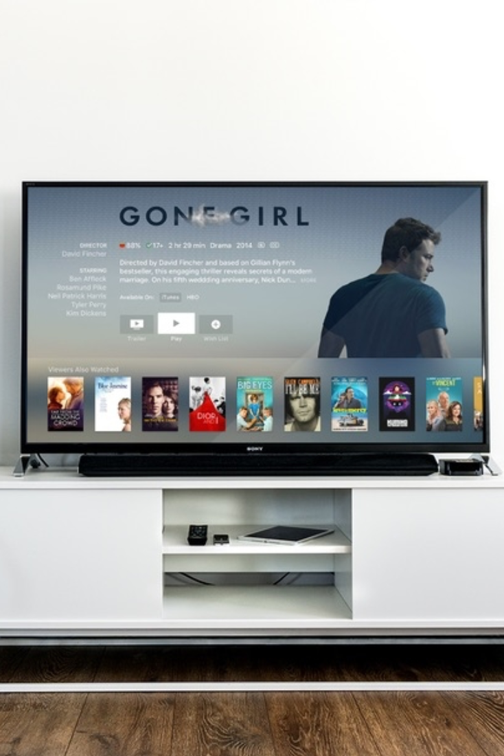 How To Choose The Right Tv Size For Your Room Pinterest