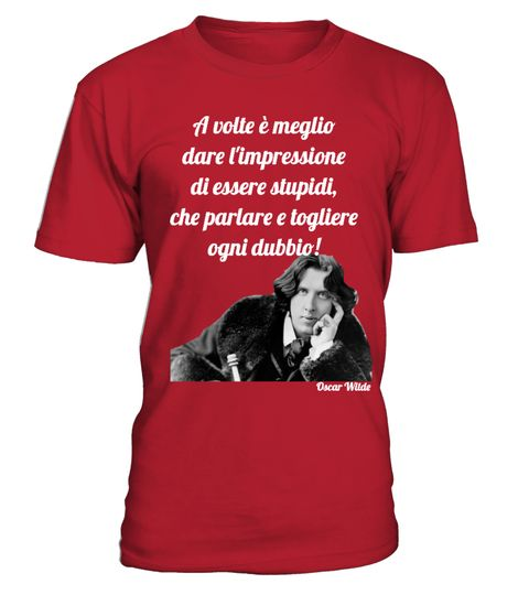 Oscar Wilde Citazioni Tshirt Offerta Speciale E Limitata