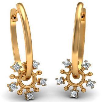 Стильные ювелирные украшения из золота: кольца, серьги ...