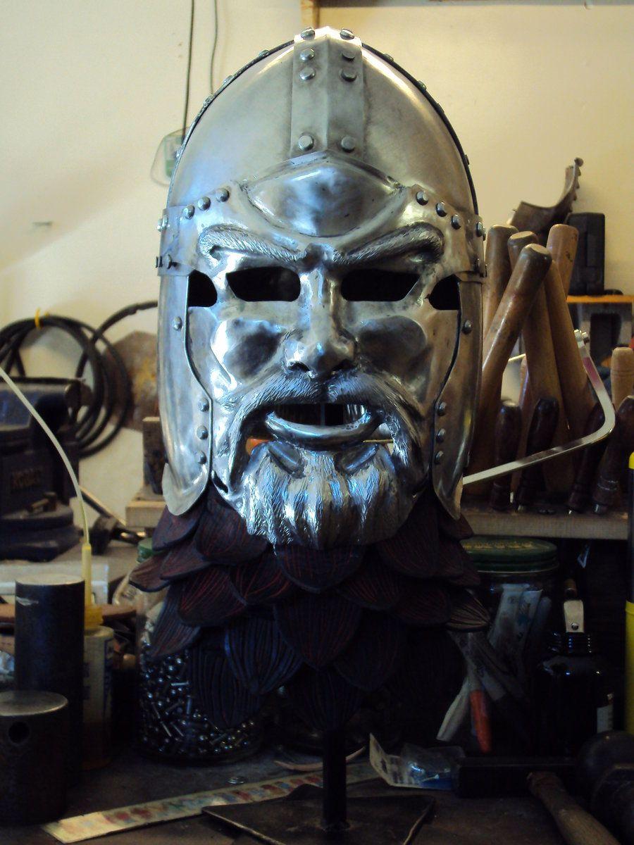 Face Helm by TimeTurbine on deviantART. Beautiful work!