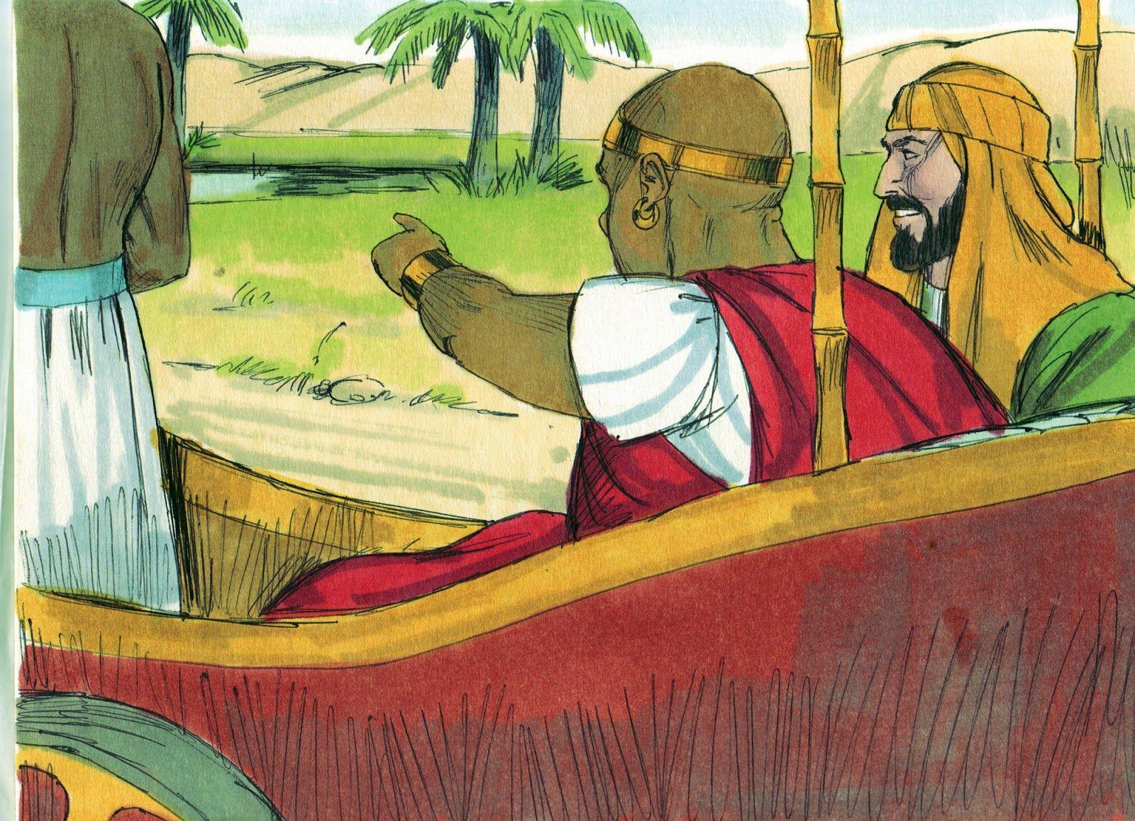 Philip & the Ethiopian Eunuch | Kids - Bible Class Ideas | Pinterest