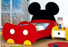 Mickey Mouse Bed For Kids Mickey Everything Pinterest