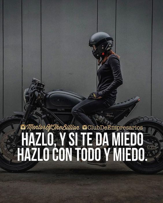 Best Imagenes De Motos Con Frases De Reflexion Image Collection