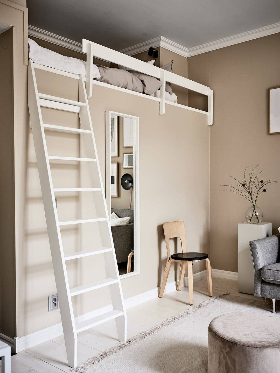 Full Size Modern Loft Beds For Adults in 2020 Modern