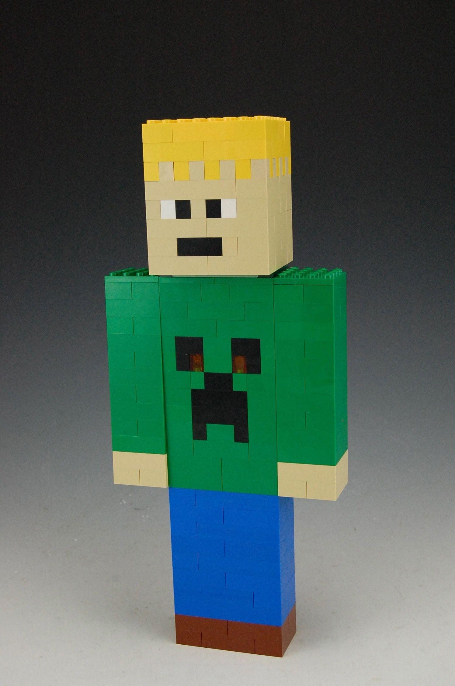 Lego Custom Minecraft Skin by BrickBum   Lego Minecraft   Minecraft