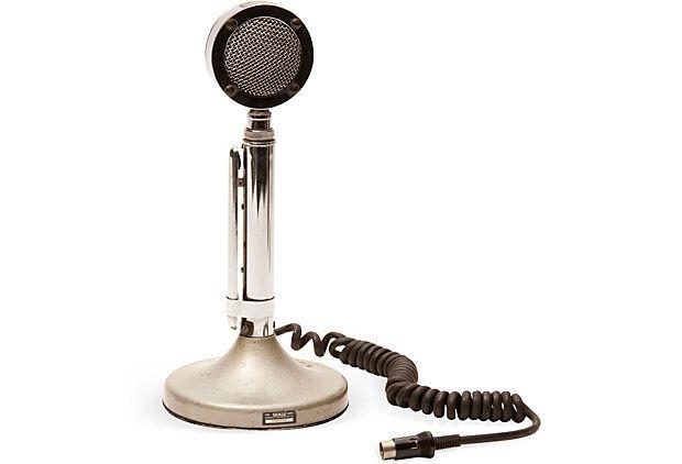 Vintage Microphone on OneKingsLane.com...........for the boys