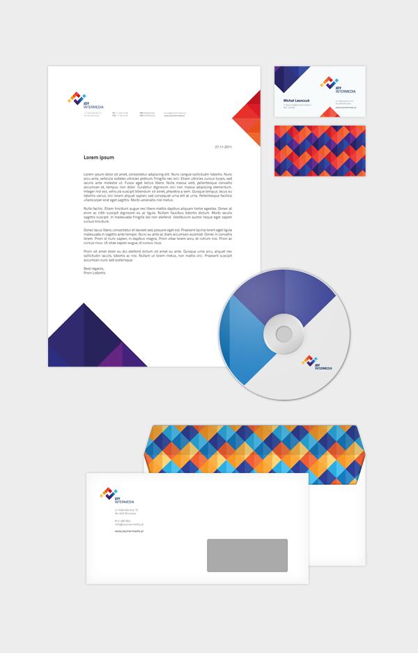 Joy Intermedia Rebranding By Michal Leonczuk Via Behance