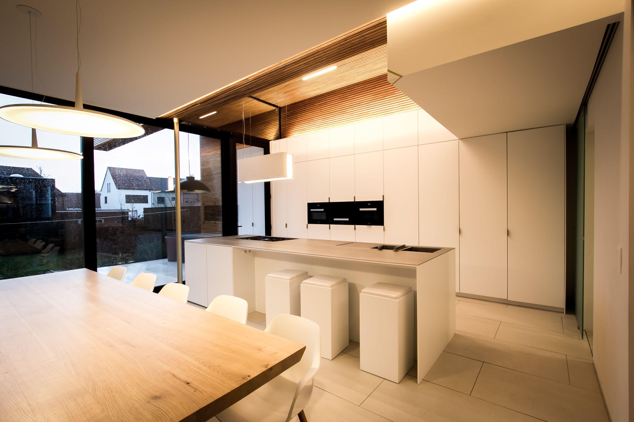 Open Keuken Inspiratie : Keukeninspiratie moderne open keuken met kookeiland leefkeuken