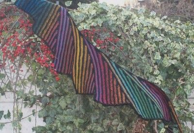 This is the Wingspan Crochet Shawl, a free crochet pattern by Carole Marie on Ravelry