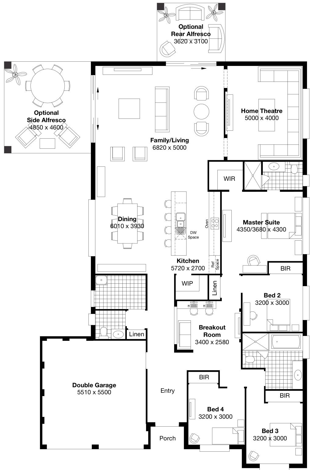 Merveilleux House Floor Plans · Symphony 4   Masterton Homes.