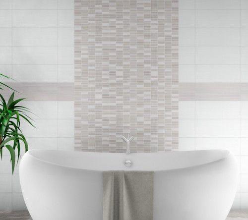 Feinstarbeit mit großem Effekt Dekorfliesen für Ihr Badezimmer - fliesen bad wei