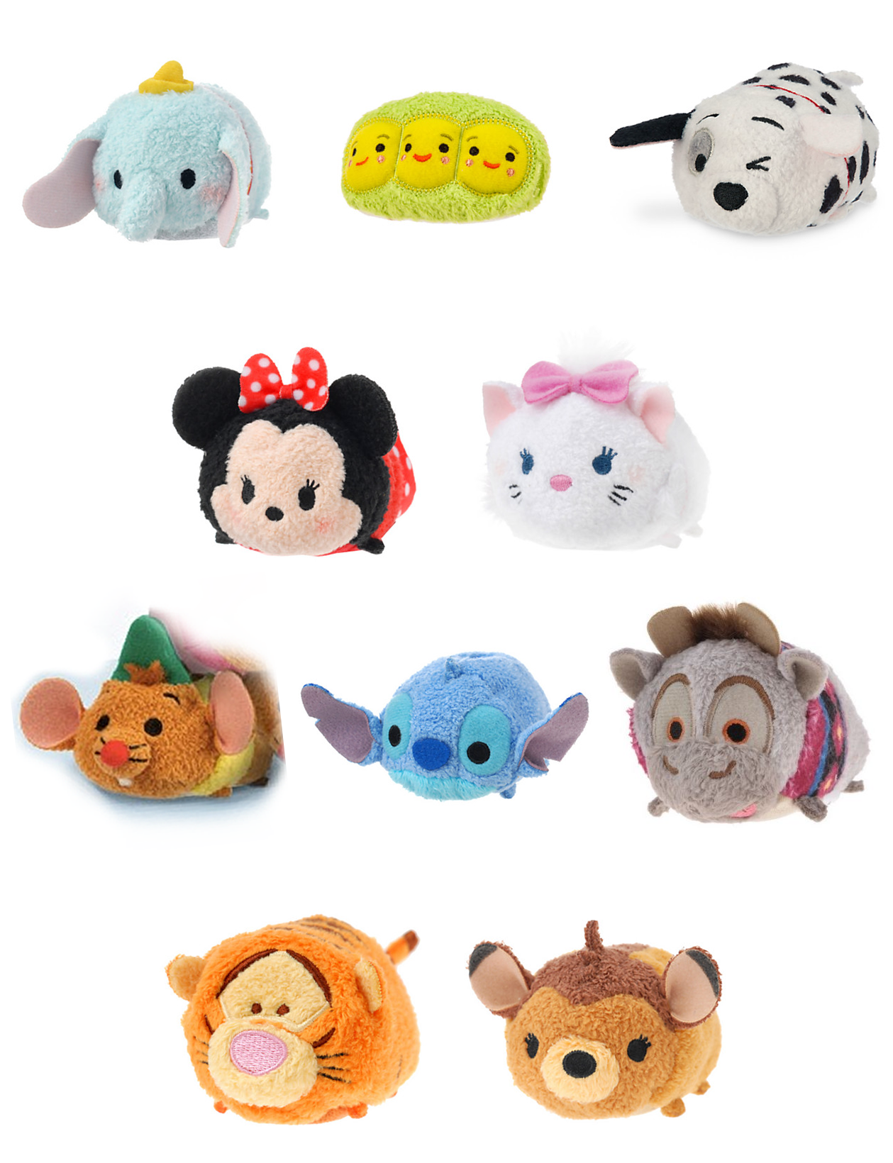 peluche disney mini