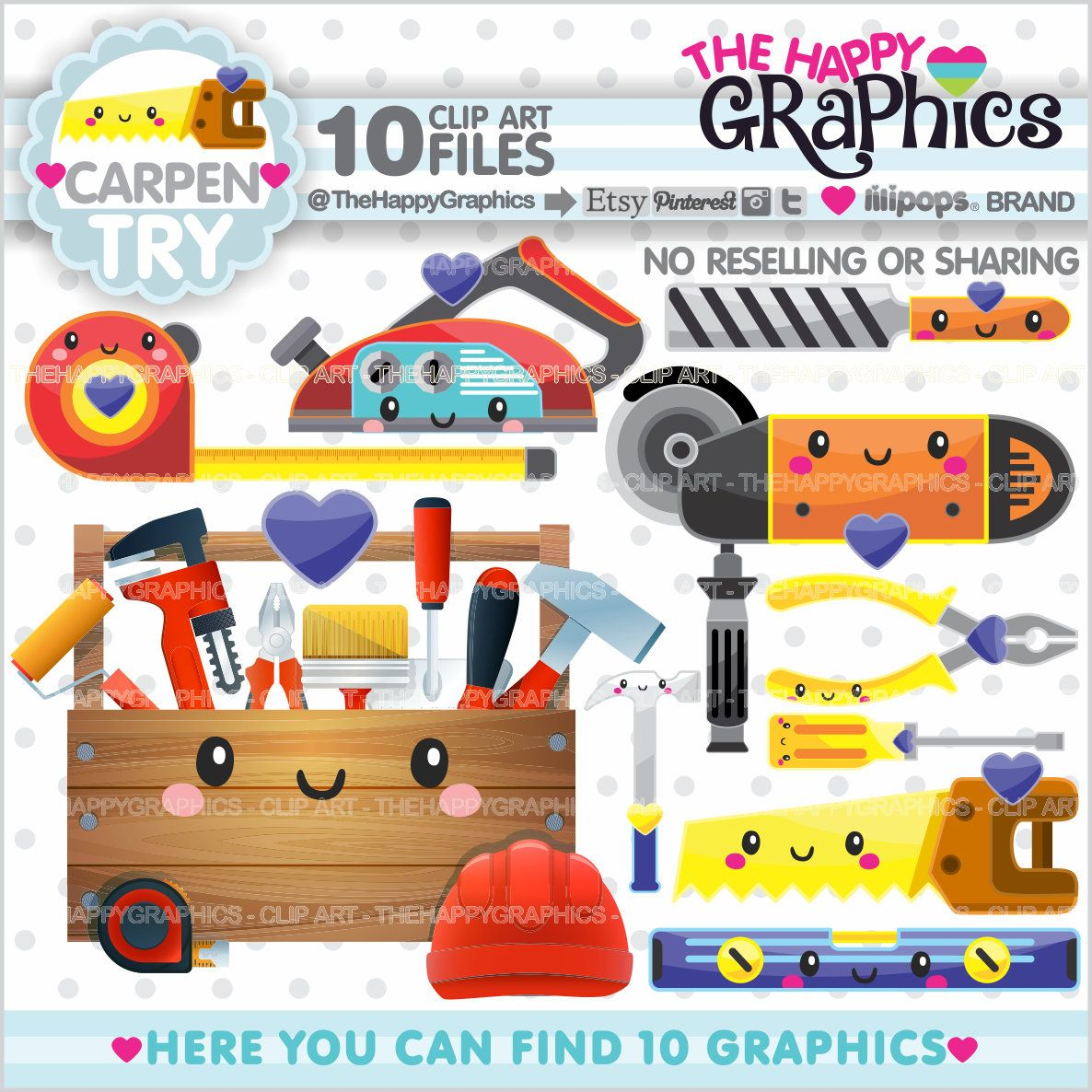 Carpentry Clipart Carpentry Graphic Commercial Use