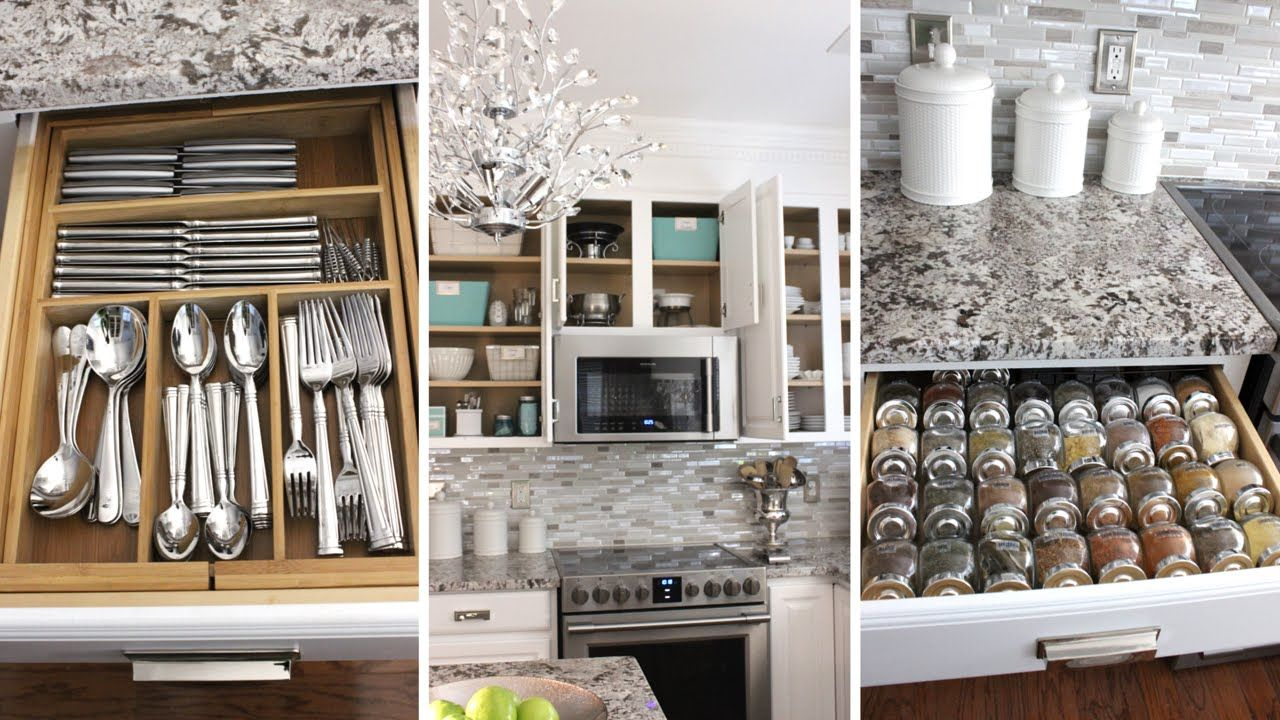Organized Kitchen Organized Kitchen Tour How To Organize Your Kitchen At Home