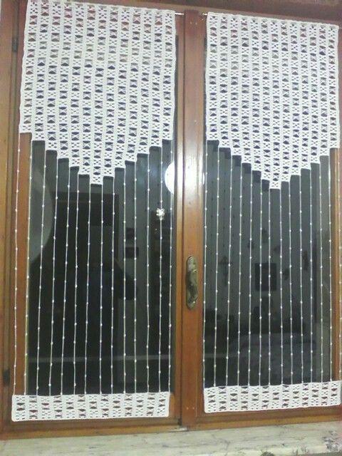 tende a uncinetto crochet for home h keln f r daheim. Black Bedroom Furniture Sets. Home Design Ideas