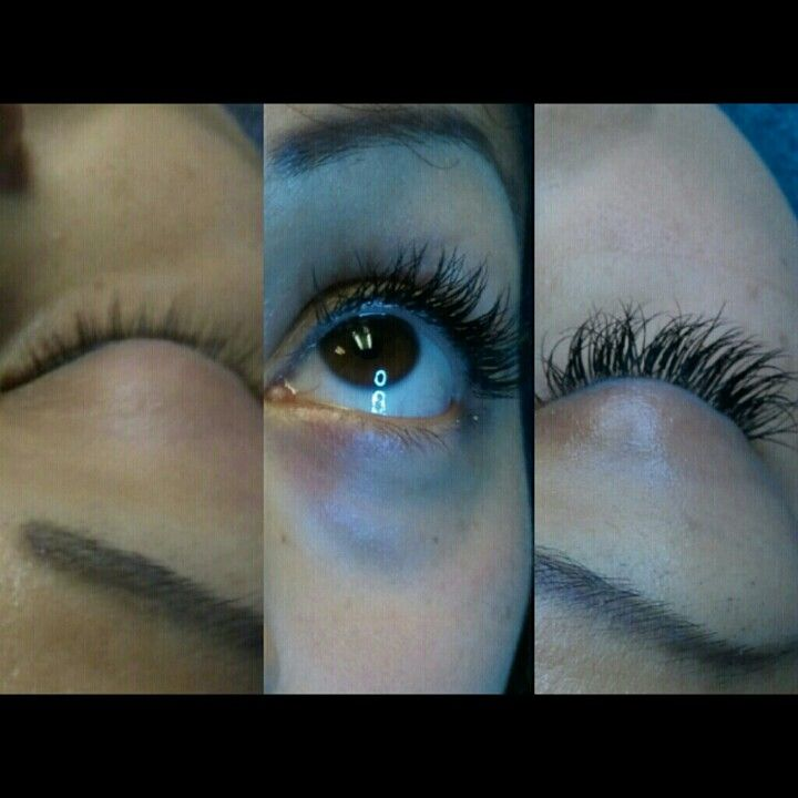 Before and after lash extensions lash extensions lashes