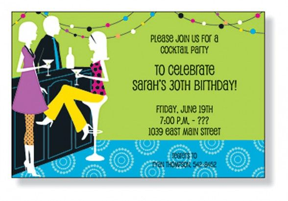 Birthday Invitations,Blank Adult Birthday Invitations Home Bar Theme - invitation letter for home party