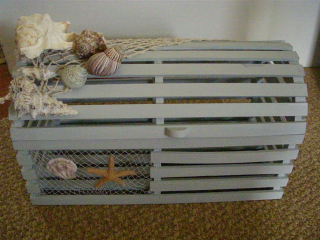 lobster trap wedding card holder reception decorations view1 ...
