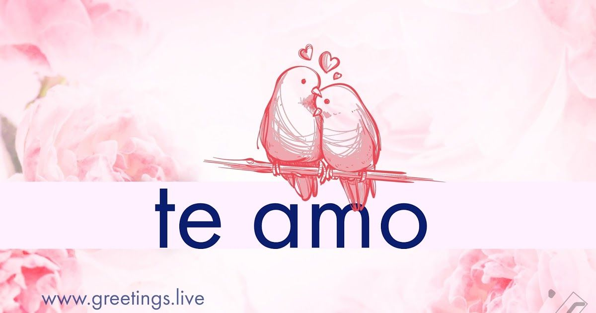 I Love You In Spanish Language Hd Greetings Live  Spanish -5009
