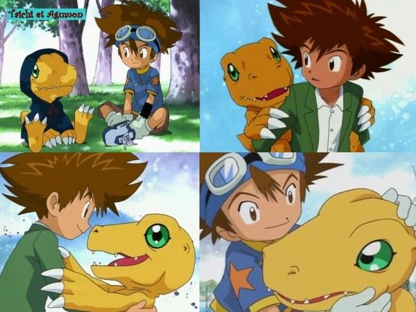 Tai/Taichi & Agumon - Digimon | Best of Anime | Digimon