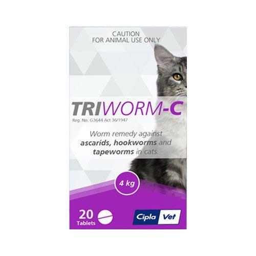 TriwormC Dewormer Cats, Cat online, Pets online