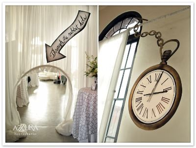 Awesome Entrance To Alice In Wonderland Wedding