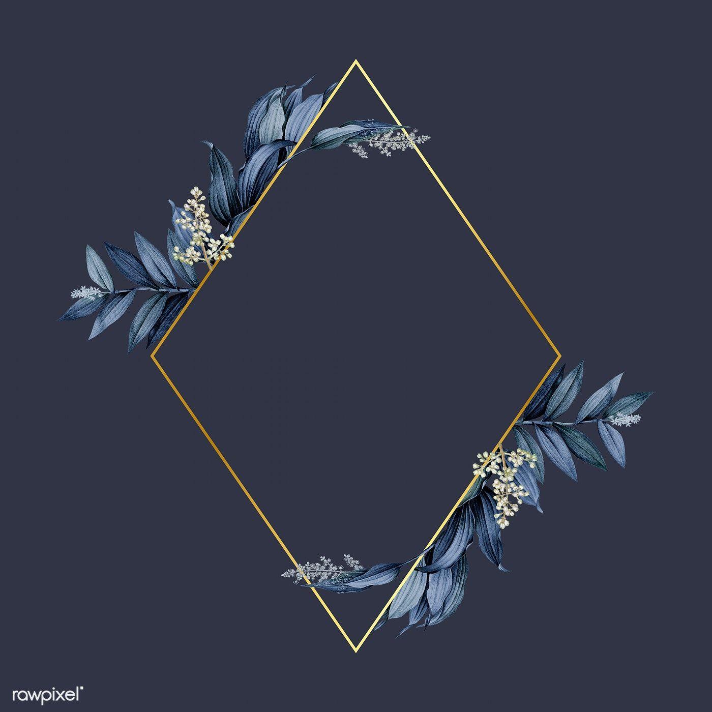 Aesthetic Navy Blue Background