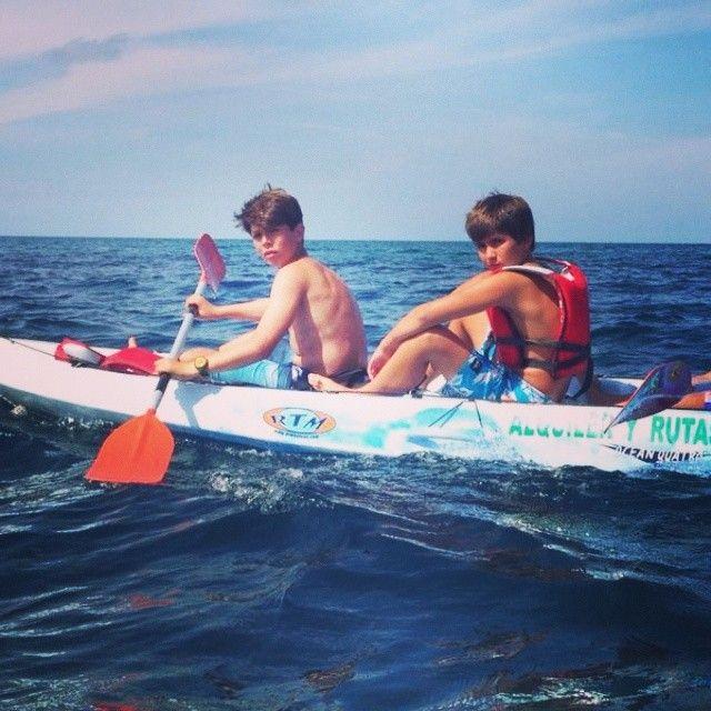 #remando#canoa#por#cantabria