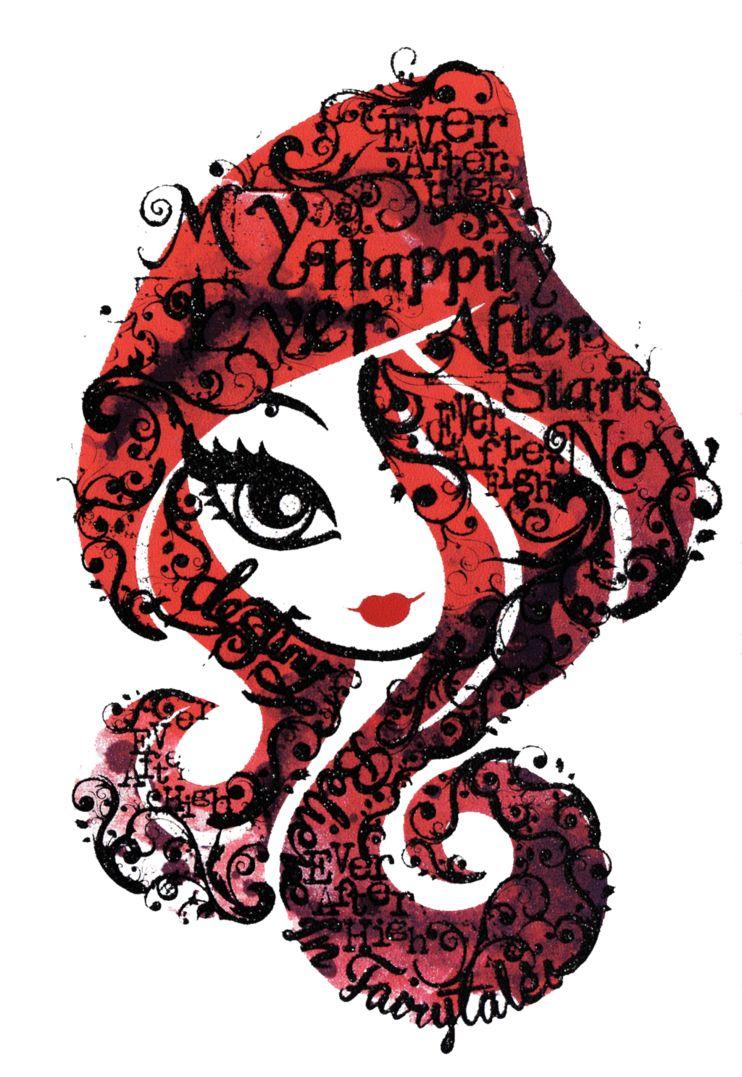 Ever after high logo | Desenhos de bonecas tumblr ...