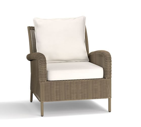 Georgia All Weather Wicker Occasional Chair
