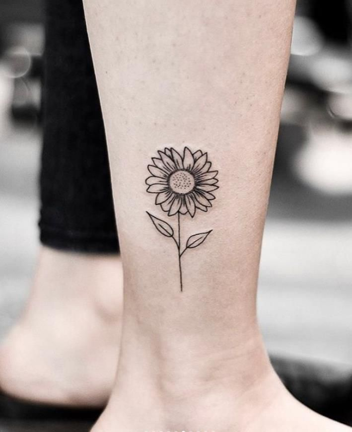 Photo of Active And Sunny Sunflower Tattoo Art Designs In 2020 Summer