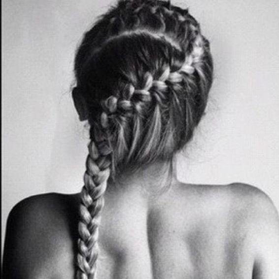 French braid :)