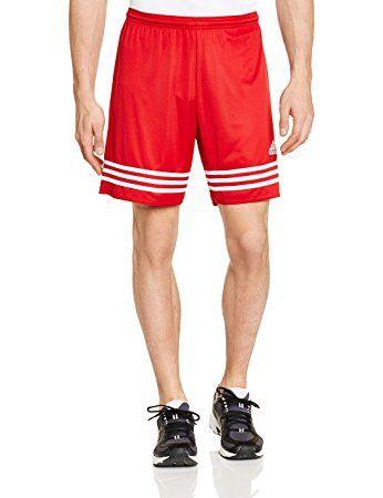 Adidas F50636, Pantaloncini da Uomo, Rosso (University Red/White), M