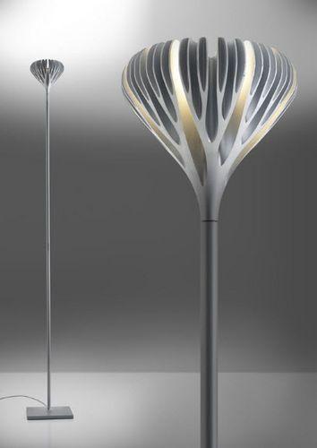 Floor Standing Lamp / Original Design / Anodized Aluminum / By Ross  Lovegrove FLORENSIS Artemide