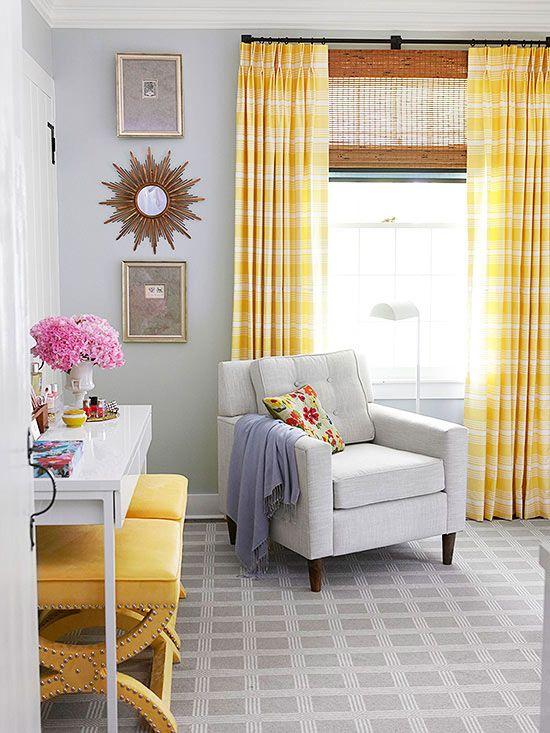 25 Cheery Ways To Use Yellow In Your Decor Farm House Living Room Home Decor Room Decor