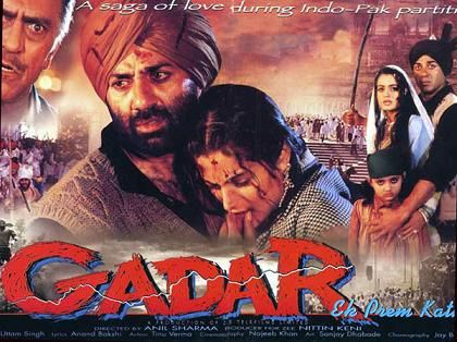 Gadar Ek Prem Kata Sunny Deol Great Movie Old Bollywood Movies Bollywood Movies Indian Movies Bollywood