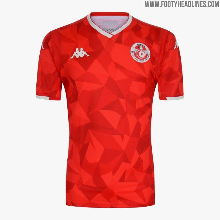 53c5d0aedf4fe Kappa Tunisia 2019 AFCON Kit Revealed - Footy Headlines | QPR ...