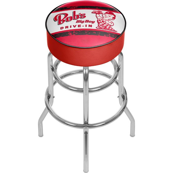 Bobs Big Boy Padded Swivel Restaurant Bar Stool With Images