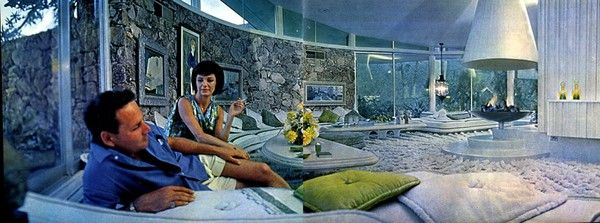Look Magazine House Of Tomorrow Space Age Home House Of Tomorrow Vintage Architecture Mid Century Architecture