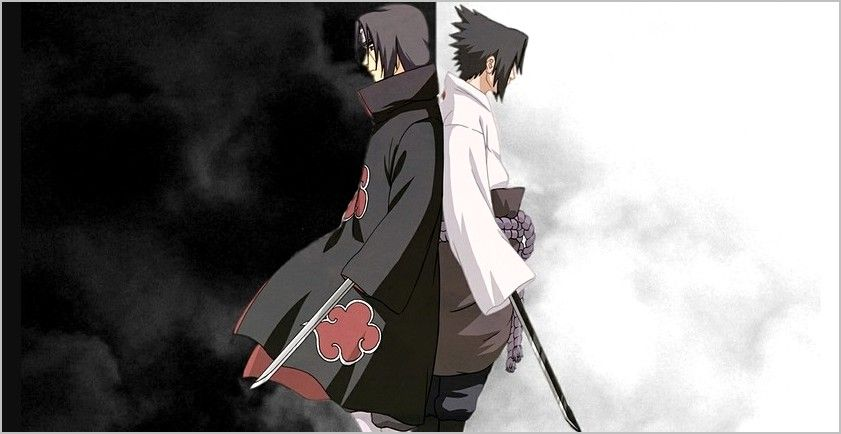 4k Wallpaper Itachi And Sasuke Naruto And Sasuke Wallpaper Sasuke And Itachi Itachi Uchiha