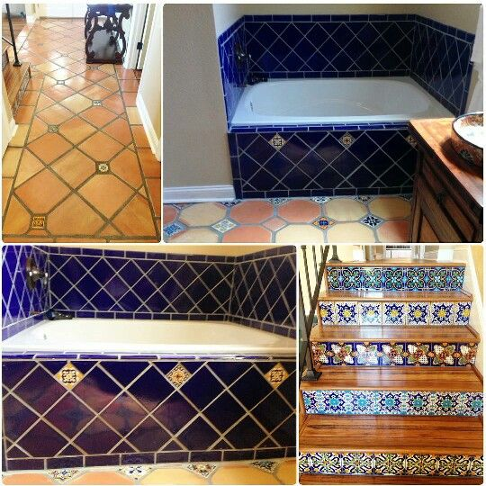 Tile Decorations Stunning Gonz Decorations Mexican Tile 6×6 Saltillo Super 12×12  Cosas Que Design Inspiration